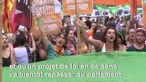 """Journée des femmes: manifestations dans le monde contre le """"patriarcat"""""""