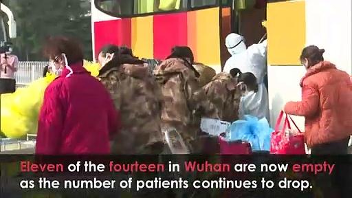 China closes 11 of its 14 temporary coronavirus hospitals