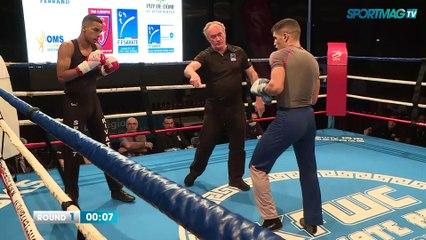 Tournoi de Savate de Clermont-Ferrand : Yoann Trille vs Amin Elbaz
