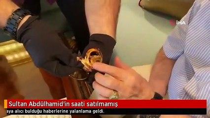 Sultan Abdülhamid'in saati satılmamış(0)