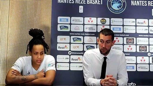 Conférence de presse après match NRB Landerneau Coach