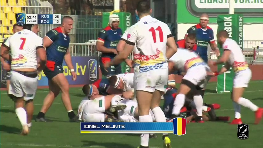 RUGBY EUROPE CHAMPIONSHIP 2020: Top Tries - Round 4