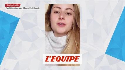 le vlog de Manon Petit-Lenoir suite à sa blessure - Adrénaline - Swnoboardcross