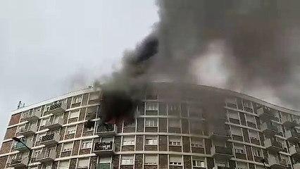 Incendie à Saint-Ouen