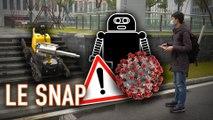 Le Snap #02 : ce robot lutte contre le Coronavirus