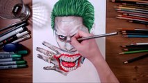 Suicide Squad - Joker (Jared Leto) - speed drawing