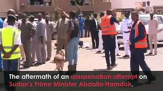 Sudan's PM survives assassination attempt after explosion