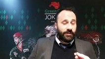Hockey sur glace Interview de Jonathan Paredes, Coach des Jokers de Cergy-Pontoise, 08/03/2020 (D1 – ¼ de finale match 1 & 2 Cergy-Pontoise VS Dunkerque)