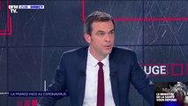 """Olivier Véran sur le confinement: """"L'Italie fait face à une très grande détresse de son système hospitalier"""""""