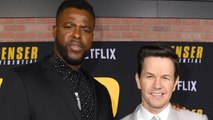 Actors Mark Wahlberg and Winston Duke Talk About Filming New Film 'Spenser Confidential'