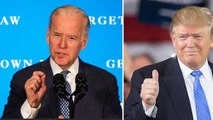 Joe Biden unexpectedly supported Donal Trump, what story is really happening-