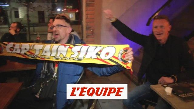 Les supporters lensois se contentent de regarder le match à la télévision - Foot - L2 - Lens