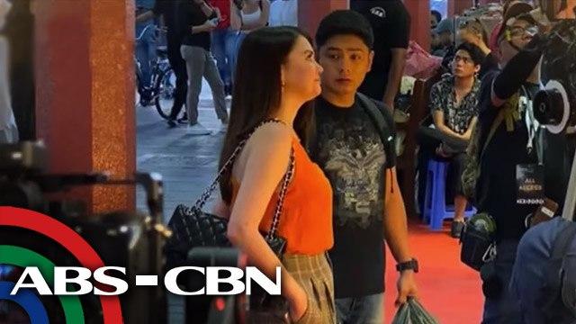 Coco Martin at Angelica Panganiban, nasa Dubai para sa shooting ng pelikulang 'Love or Money'   UKG