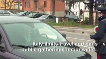 Coronavirus: Italians told to stay home until early April
