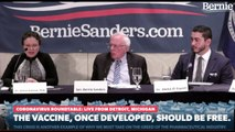 Senator Bernie Sanders Addressing Coronavirus Outbreak: Public Health Roundtable In Detroit