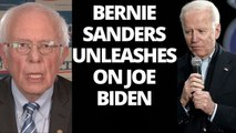 Bernie Sanders UNLEASHES on Joe Biden on eve of Michigan primary