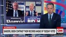 Bernie Sanders talks coronavirus on the campaign trail