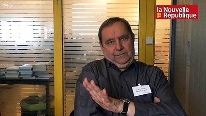 """VIDEO. Tours : cinq questions à Gilles Godefroy, tête de liste """"Alliance et rassemblement pour Tours """""""