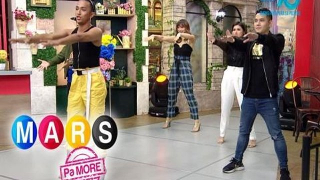 Mars Pa More: 'Don't Start Now' dance moves with Mico Aytona and Duncan Ramos | Push Mo Mars