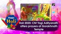 Holi 2020: UP CM Yogi Adityanath offers prayers at Gorakhnath Temple