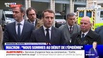 """Coronavirus: Emmanuel Macron préconise que l'on reste """"extrêmement adaptable"""" selon les régions"""