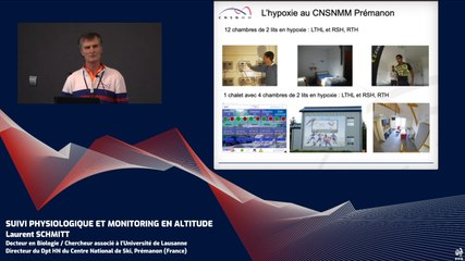 Suivi physiologique et monitoring en altitude (L. Schmitt)