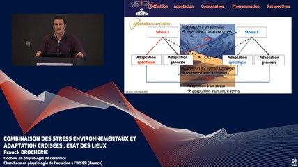 Combinaison des stress environnementaux et adaptations croisées : état des lieux (F. Brocherie)