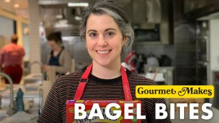 Pastry Chef Attempts to Make Gourmet Bagel Bites