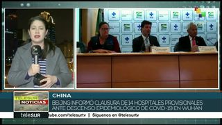 China confirma reducción en casos de coronavirus