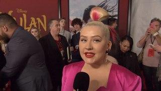'Mulan' Premiere: Christina Aguilera