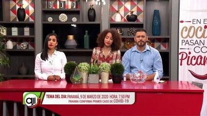 Tema Ají | Panamá 9 de Marzo de 2020, hora- 7-50PM, Panamá confirma Caso de COVID-19 - Nex Panamá