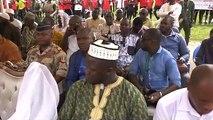 Obsèques des joueurs décédés : Discours compatissant du PM Kassory Fofana
