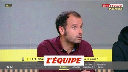 A. Clément sur l'intérêt de la fin de saison avec les huis clos - Foot - EDE