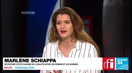 Marlène Schiappa, secrétaire d'État chargée de l'Égalité entre les femmes et les hommes