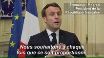 """Coronavirus: la fermeture de la frontière avec l'Italie, une """"mauvaise décision"""" selon Macron"""