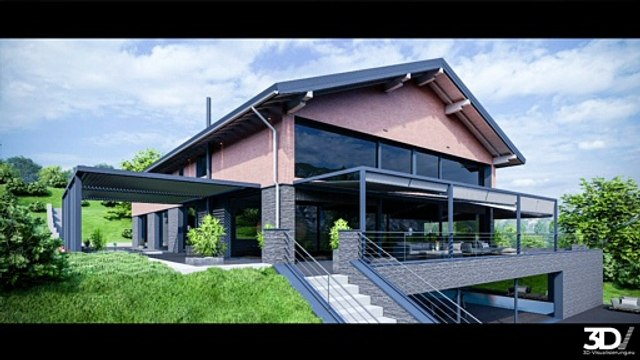 3D Visualisierung Architektur. Ihr zukünftiger Partner für Architekturvisualisierungen Made in Germany!