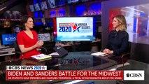 Joe Biden and Bernie Sanders battle for the Midwest