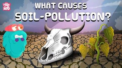 What Is SOIL POLLUTION   LAND POLLUTION   What Causes Soil Pollution   Dr Binocs Show  Peekaboo Kidz