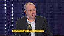 """Coronavirus : """"Pour l'instant c'est plutôt bien géré"""" par le gouvernement estime Laurent Berger"""