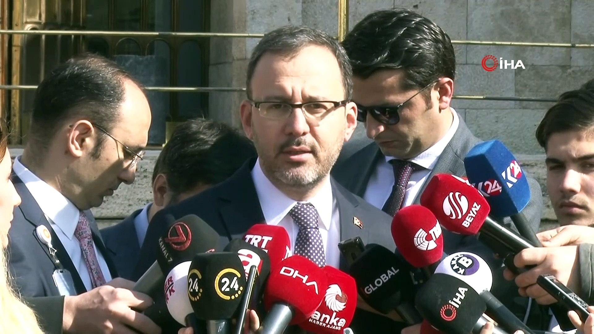 """Bakan Kasapoğlu: """"Maçların seyircisiz oynanması gündemimizde değil"""""""