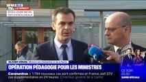 """Coronavirus: Olivier Véran assure que """"mettre ses enfants à l'école n'est pas dangereux"""""""