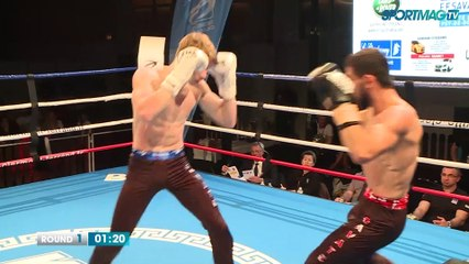 Savate Pro Clermont-Ferrand : Turan Gafarov vs Oleg Likhtarovich