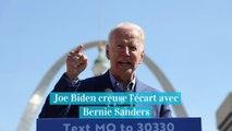 Présidentielles américaines : Joe Biden maintient son avance contre Bernie Sanders