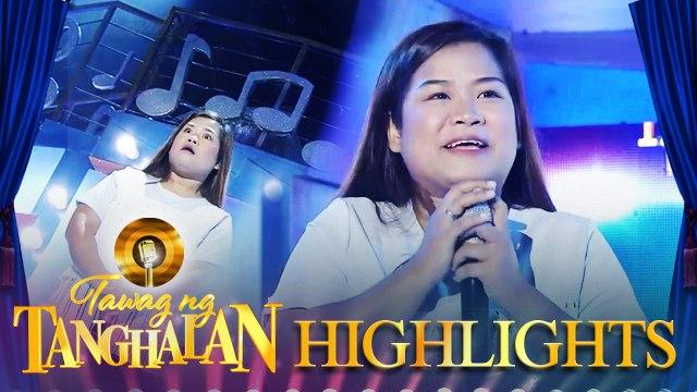 Rea Gen Villareal snatches the golden microphone from Mark Avila | Tawag ng Tanghalan