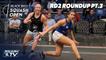 Squash: CIB Black Ball Women's Open 2020 - Rd2 Roundup [Pt.3]
