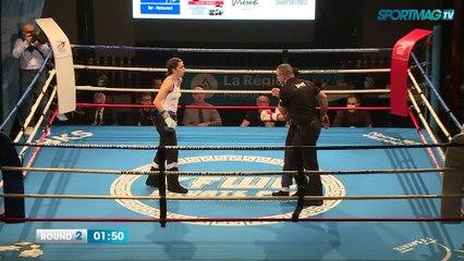 Savate Clermont-Ferrand : Samira Bounhar vs Sofia Cavallo