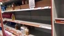 Koronavirüs | Market rafları kısa sürede boşaldı; bazı marketlerde temizlik ürünlerine limit getirildi