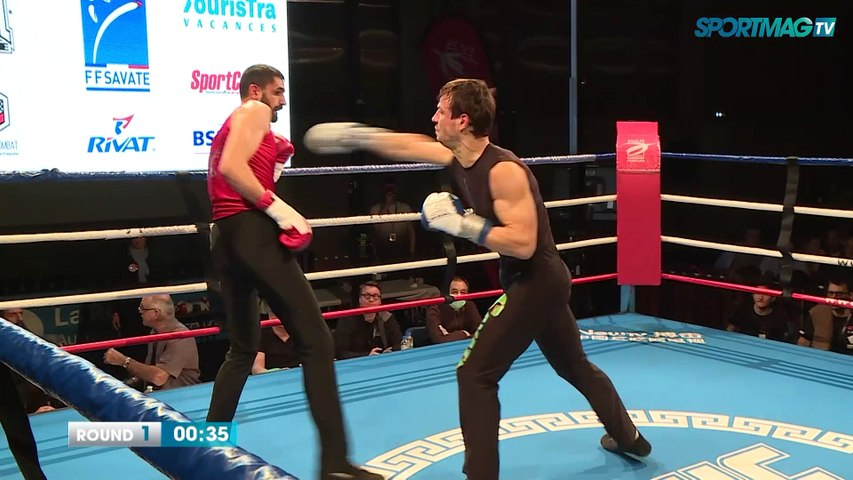 Savate Clermont-Ferrand : Christopher Brugiroux vs Jimmy Garnoy