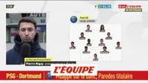 Paredes et Bernat titulaires, Sarabia en pole pour suppléer Mbappé - Foot - C1 - PSG