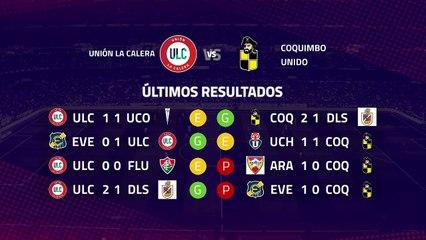 Previa partido entre Unión La Calera y Coquimbo Unido Jornada 7 Primera Chile